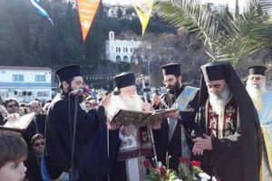 Η εορτή των Θεοφανείων στην Ι. Μητρόπολη Καλαβρύτων και Αιγιαλείας