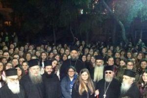 Ο Μητροπολίτης Γαβριήλ και 500 νέες γυναίκες  της Μητρόπολης στην Οσία Ματρώνα Ν. Ιωνίας