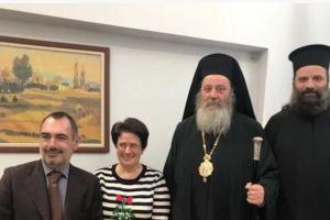 Ο Κερνίτσης Χρύσανθος στο Σύλλογο των εν Πάτραις Κεφαλλήνων – Ζήτησε άδεια από τον Κεφαλληνίας Δημήτριο για να πάει;;