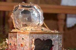 Στην Κύπρο από την Ι.Μ.Μ. Βατοπαιδίου η Τιμία Κάρα του Αγίου Ιωάννου Χρυσοστόμου