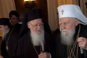 Ξαφνική κινητοποίηση για τη Σκοπιανή ψευδοεκκλησία: Ο  Πατριάρχης Βουλγαρίας σήμερα  στον Βαρθολομαίο
