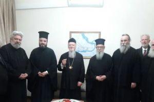 Γεύμα του Οικ.Πατριάρχη με Συνοδικούς Ιεράρχες