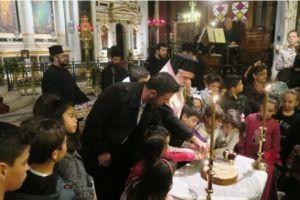 Εκδήλωση της Ι.Μητρόπολης  Σύρου για τα παιδιά των εργαζομένων των ναυπηγείων «ΝΕΩΡΙΟΥ»
