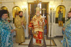 Τη μνήμη του Αρχιεπισκόπου Χριστοδούλου τιπμησαν  στους Αγίους Αναργύρους ο Μητροπολίτης Κορωνείας και το εκκλησίασμα