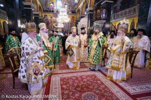 Κλήρος και λαός εόρτασαν τον  όσιο Αντώνιο, νέο Πολιούχο της Βέροιας