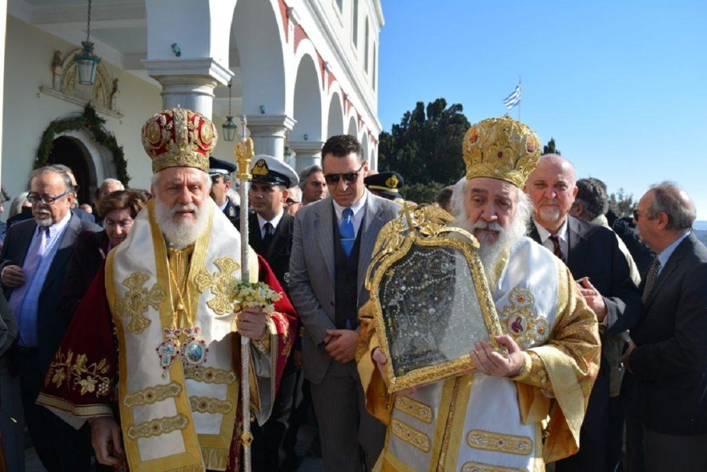 Η Τήνος τίμησε την εορτή της ευρέσεως της Ιεράς Εικόνος της Ευαγγελίστριας