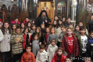 Τους Τρεις Ιεράρχες εόρτασε ο Ιερός Ναός Αγίου Μάρκου Βροντάδου Χίου
