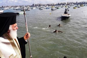 H  Αλεξάνδρεια εόρτασε τα Επιφάνεια με τον Πατριάρχη Θεόδωρο