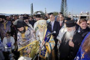 Η εορτή των Θεοφανείων στην Μητρόπολη Γλυφάδας