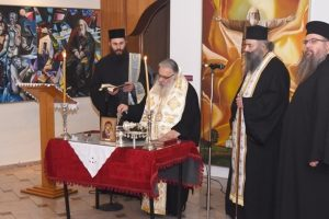 Έκθεση ζωγραφικής του Βαρλάμη με έργα αφιερωμένα στον Άγιο Λουκά τον ιατρό εγκαινίασε ο Σεβ. Μητροπολίτης Εδέσσης κ. Ιωήλ.