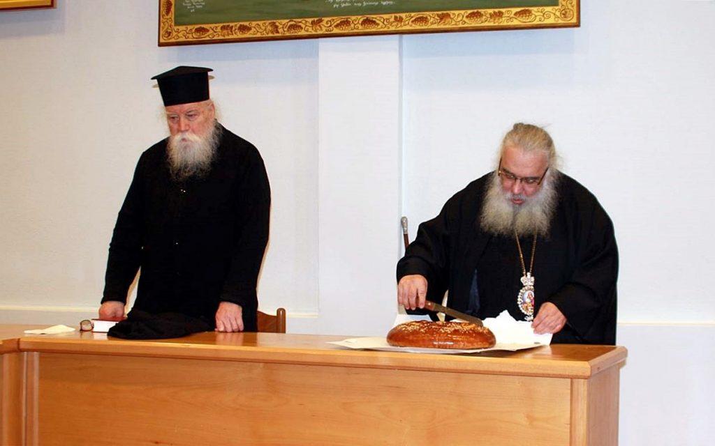 Ψήφισμα του Ιερού Κλήρου της Μητροπόλεως Εδέσσης για το Μακεδονικό στην 1η Ιερατική σύναξη του έτους.