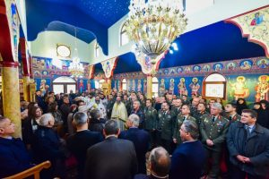 Εγκαίνια Στρατιωτικού Ιερού Ναού του Αγίου Γεωργίου της 1ης Ταξ. ΚΔ-ΑΛ Ρεντίνας