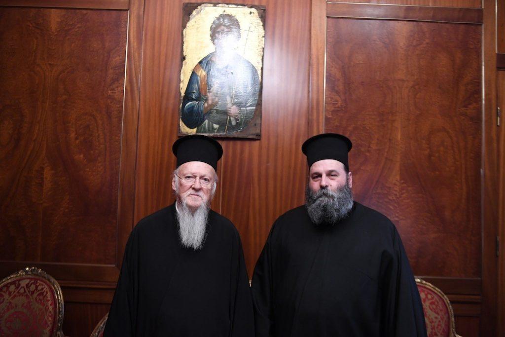You are currently viewing O Μητροπολίτης Ιωαννίνων Μάξιμος  στο Οικουμενικό Πατριαρχείο