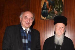 Επίσκεψη του Υφυπουργού Εξωτερικών της Ελλάδος, κ.Ιωάννη Αμανατίδη στο Οικουμενικό Πατριαρχείο
