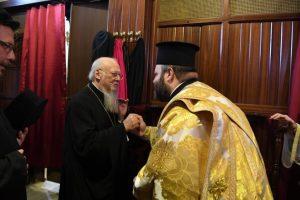 Χειροτονία Διακόνου από τον Μητροπολίτη Προύσης στην Ιερά Μονή Αγίας Τριάδος Χάλκης