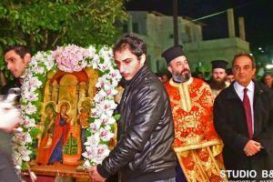 Πανηγυρίζει ο Ιερός Ναός της Υπαπαντής Λευκακίων Ναυπλίου.