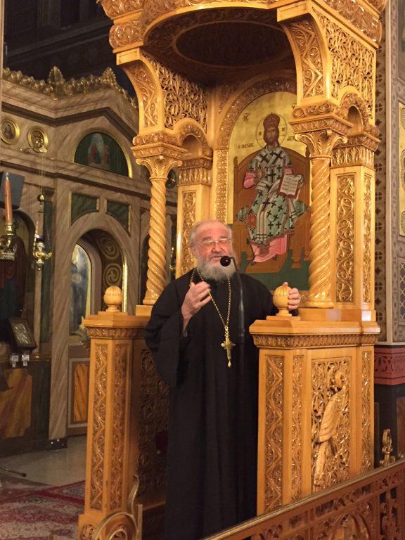"""Αρχιμ. Θεόκλητος Λεγάτος: """"Το έργο της Παναγίας είναι πολύ μεγαλύτερο από των Αγγέλων"""""""