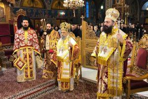 Η Λάρισα εόρτασε τον Άγιο Χαράλαμπο