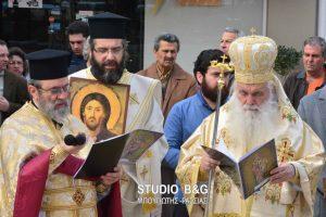 H μεγάλη εορτή της Ορθοδοξίας στον καθεδρικό ναό του Αγίου Πέτρου στο Αργος.