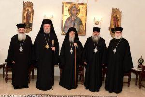 Ο Αρχιεπίσκοπος Αμερικής Δημήτριος επισκέφθηκε την Μητρόπολη Λεμεσού