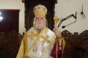 Ο Μητροπολίτης Κορωνείας στην Αγ. Σοφία Λευκωσίας