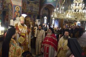 Το Πρωτοκύριακο της Μεγάλης Τεσσαρακοστής στην Ιερά Μητρόπολη Μεγάρων και Σαλαμίνος