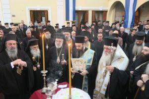Η Καστοριά υποδέχθηκε τον Αρχιεπίσκοπο και τους Συνοδικούς Ιεράρχες