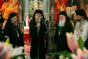 Ο Αρχιεπίσκοπος στην εορτάζουσα Μονή του Οσίου Λουκά