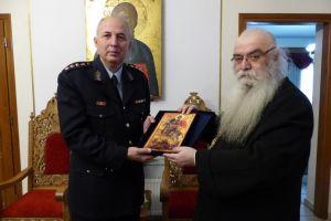 Τον Μητροπολίτη Καστορίας Σεραφείμ επισκέφτηκαν ο νέος και ο απερχόμενος Αστυνομικός Διευθυντής