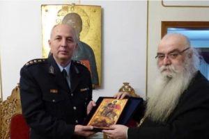 Στον Καστορίας Σεραφείμ ο νέος και ο απερχόμενος Αστυνομικός Διευθυντής