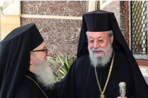 Το Χρυσό Παράσημο του Αποστόλου Βαρνάβα θα απονείμει στον Αρχιεπίσκοπο Αμερικής Δημήτριο, ο  Κύπρου Χρυσόστομος.