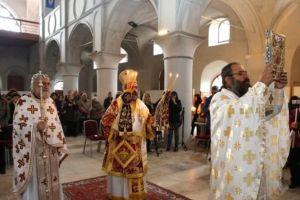 Ο Σμύρνης Βαρθολομαίος εόρτασε πανηγυρικά τον Άγιο Χαράλαμπο στον Τσεσμέ