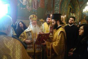 ημητριάδος Ιγνάτιος: «Η πορεία της Ορθοδοξίας σήμερα είναι σταυρική» Λαμπρή η Κυριακή της Ορθοδοξίας στον Βόλο