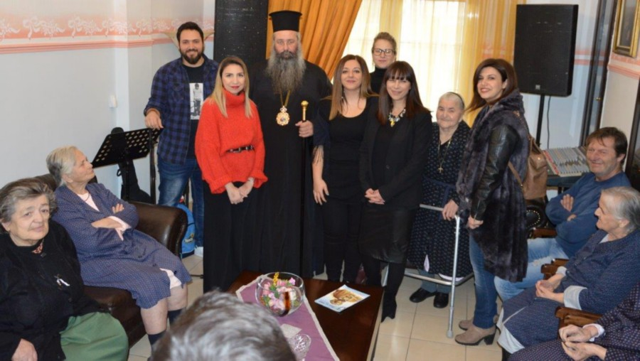 Εγκαινιάστηκε το «Ράφι της Αγάπης» στο Εκκλησιαστικό Γηροκομείο της Ι.Μ. Κίτρους