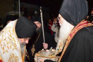 Η Μητρόπολη Λεμεσού υποδέχθηκε την Τιμία Κάρα Αγίου Ιωάννη του Χρυσοστόμου
