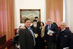 """Αναγνωρίστηκε η διακονία του """"ΕΣΤΑΥΡΩΜΕΝΟΥ"""" και απο τη  Βουλή των Ελλήνων."""