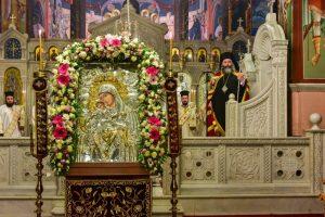 Εις τον Ιερό Μητροπολιτικό Ναό της Αγίας Παρασκευής Λαγκαδά το εσπέρας της Παρασκευής 23ης Φεβρουαρίου  η Α' Στάσης των Χαιρετισμών προς την Υπεραγία Θεοτόκο