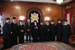 Επίσκεψη του Υπουργού Παιδείας, Έρευνας και Θρησκευμάτων της Ελλάδος,  Καθ. Κωνσταντίνου Γαβρόγλου  στο Οικουμενικό Πατριαρχείο.