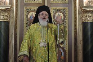 Βρεσθένης Θεόκλητος: «Ο Τίμιος Σταυρός είναι η απαρχή της σωτηρίας του ανθρωπίνου γένους»