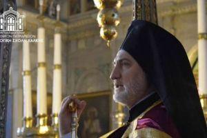Β' Χαιρετισμοί στον Άγιο Νικόλαο Χάλκης υπό του Προύσης Ελπιδοφόρου