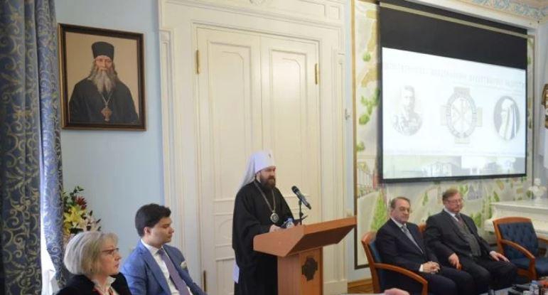 Ομιλία του Βολοκολάμσκ Ιλαρίωνα για το μέλλον του χριστιανισμού στη Μέση Ανατολή