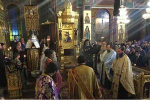 Ομιλία του Ηγουμένου της Μονής Σταυρονικήτα στον Αγ.Νικόλαο Λαρίσης