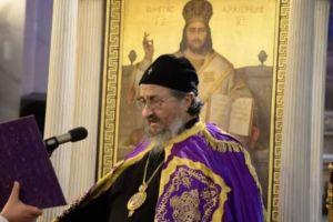 Ο Γ ´ Κατανυκτικός Εσπερινός στην Πάτρα, παρουσία του Σέρβου αγωνιστή  Επισκόπου Αθανασίου Γέφτιτς