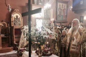 """Κερκύρας Νεκτάριος: """"Ο Τίμιος Σταυρός είναι το σύμβολο της νίκης και της Αναστάσεως"""""""