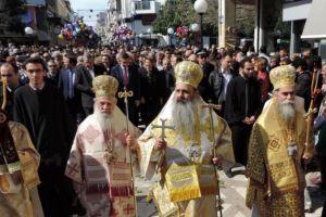 Χιλιάδες λαού  στον λαμπρό εορτασμό της Πολιούχου Αγίας Θεοδώρας στην Αρτα