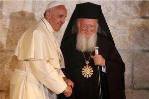 Συγχαρητήριο μήνυμα του Οικ.Πατριάρχη προς τον Πάπα Φραγκίσκο για την επέτειο εκλογής του