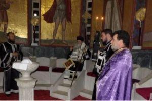 Προηγιασμένη Θεία Λειτουργία από τον Κορίνθου Διονύσιο
