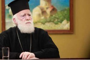 Δυναμικό παρών στο συλλαλητήριο κατά των νέων Θρησκευτικών, από τον Αρχιεπίσκοπο Κρήτης Ειρηναίο