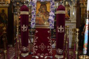 Η Ακολουθία της Δ´ Στάσεως των Χαιρετισμών της Υπεραγίας Θεοτόκου στα Αμπελάκια Σαλαμίνος