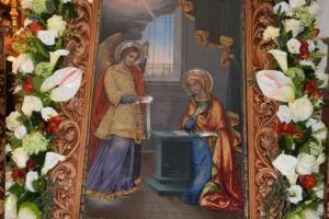 Μέγας Πανηγυρικός Εσπερινός στον Ενοριακό Ιερό Ναό Ευαγγελισμού της Θεοτόκου – Ασπροπύργου